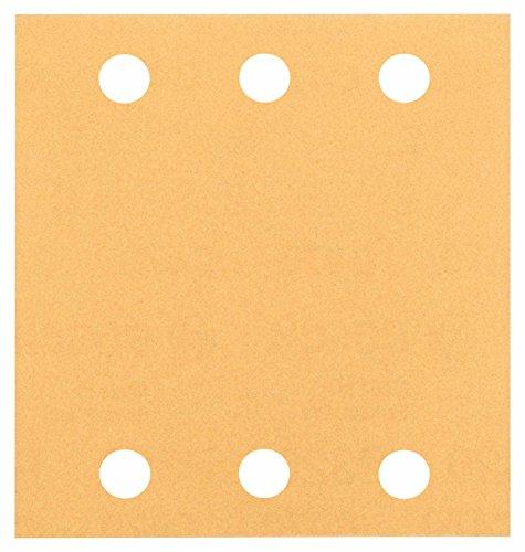 Bosch Pro Schleifblatt für Schwingschleifer Holz und Farbe Best for Wood and Paint (10 Stück, Körnung 120, C470)