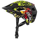 O'Neal Defender 2.0 Vandal Fahrrad Helm Neon Gelb All Mountain Bike Enduro MTB Magnet Verschluss, 0502-81, Größe S/M