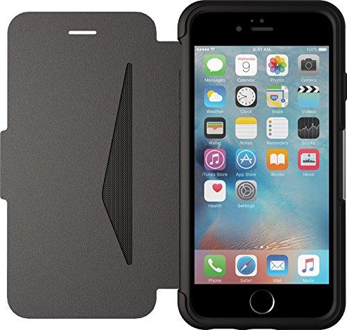 Otterbox Apple iPhone 6 / 6s Strada Folio-Hülle aus Leder - Schwarz (Neuer Minimalismus)