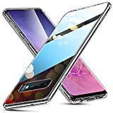 ESR Mimic Reihe Glashülle kompatibel mit Samsung Galaxy S10 Hülle - 9H Hartglas Handyhülle mit dualer Rückseite - Kratzfeste Schutzhülle mit weichem TPU Bumper für Galaxy S10 - Klar