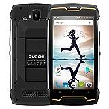 Cubot KingKong 2018 IP68 Outdoor Handy ohne Vertrag (IP68 Wasserdicht, Staubdicht, Stoßfest), 5.0 Zoll, 10-Punkt-Touch IPS innovativer Touchscreen, MTK6580 1.3GHz Quad-Core, 2GB RAM 16GB ROM, 4400mAh, Dual Kamera, Dual SIM Dual Standby, GPS Smartphone (Schwarz)