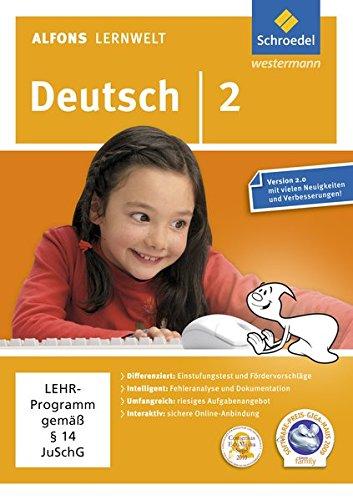 Alfons Lernwelt Deutsch 2 Einzellizenz