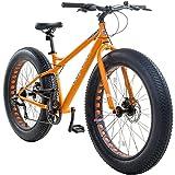 26 Zoll Galano Fatman 4.0 Zoll FAT TYRE Fatbike, Farbe:Orange