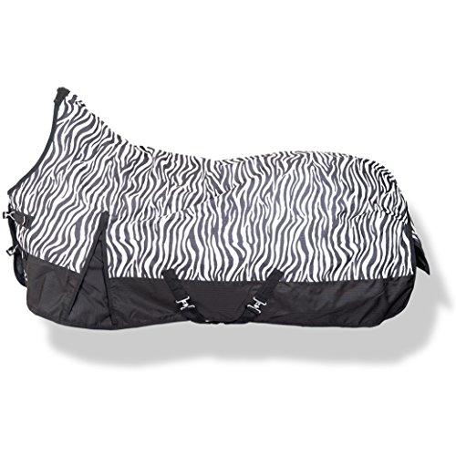 Weidedecke Highneck 600D SUMMER DREAM HKM zebra 135cm