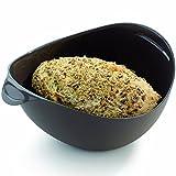 Hanseatic Consumables Flexible Silikon Brotbackform COOL Grey | 24x20x9cm | BPA freies Lebensmittelsilikon | geschmacksneutral | Antihaftbeschichtet