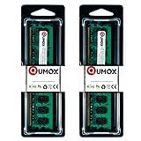 QUMOX @ 2x 2GB 4GB DDR2 800MHz PC2-6400 PC2-6300 (240 PIN) DIMM Desktop-Speicher