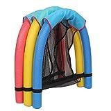 Schwimmnudel mit Netz Schwimmstuhl Schwimmstütze Wassersitz Nudel Netz