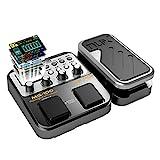 Asmuse NUX MG 100 Elektrische Gitarren Multieffekte Professionel Multi Effekt Pedal Prozessor Looper EFX Amp EQ Mixer Instrument Bass Westerngitarre mit Netzteil Tragbare (EU Plug)