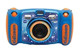 Vtech Kidizoom Duo 5.0 Digitale Kamera für Kinder, 5 MP, Farbdisplay, 2 Objektive, Pink Englische Version blau