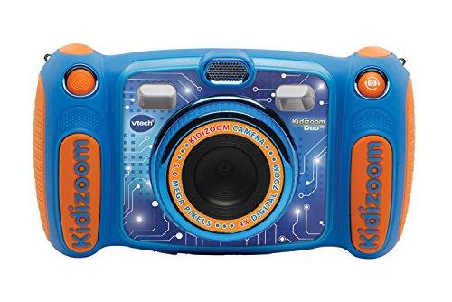 VtechKidizoom Duo 5.0Digitale Kamera für Kinder, 5MP, Farbdisplay, 2Objektive, Pink Englische Version blau