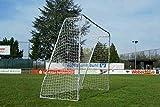POWERSHOT - Fußballtor aus Stahl 3x2m (Ohne Torwand) - Fussballtor Garten