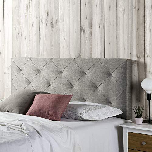 Marckonfort - Milan Kopfteil für Bett, 160 X 60 X 8 CM Rohgewebe