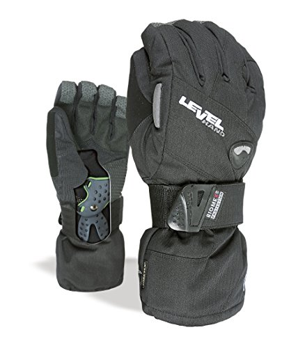 Level Half Pipe XCR Snowboardhandschuhe Herren 1011UG.01, Size 9.5 (XL), Farbe Schwarz (Black)