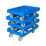 Transportroller 610 x 410 mm 4er Pack