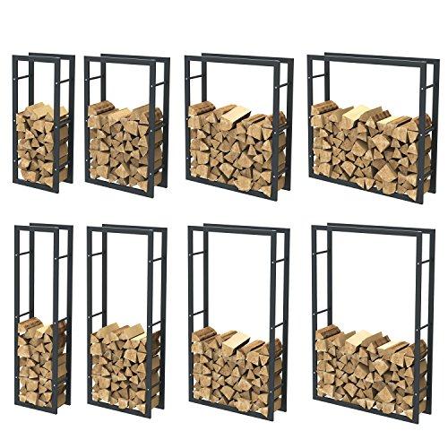 Kaminholzregal Brennholzregal Feuerholzregal Kaminholzständer Kaminholzhalter Brennholz 37000