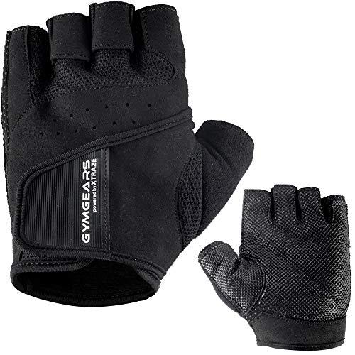 GYMGEARS Trainingshandschuhe für Damen und Herren - Fitness Handschuhe für Krafttraining, Bodybuilding, Kraftsport & Crossfit Training - Gym Workout Gloves Unisex