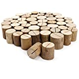 50 x Holz Holzsteg Kartenhalter Platzkarte Tischkartenhalter Namesschild Fotohalter Hochzeit Deko