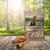 Gesunde Hundesnacks | Ochsenziemer Natur-Kausnack fettarm | Tiera Natural Oxtails 150g
