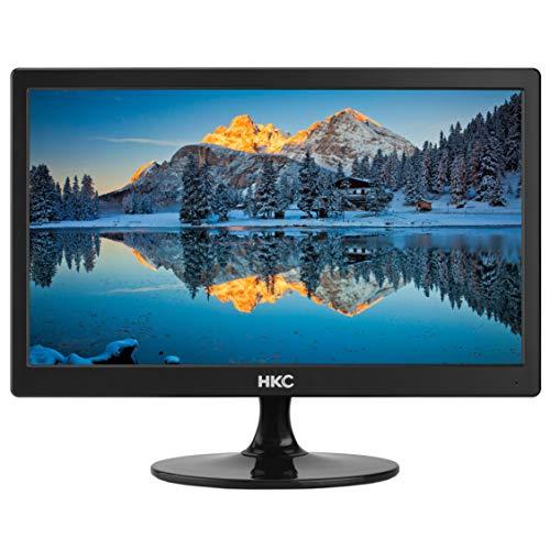 HKC MR17: 44 cm (17 Zoll) kompakter LED-Flatscreen-Monitor (HD Ready 1.600 x 900, HDMI & VGA), schwarz