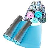 2x Campingmatte 180x50cm ALU Isomatte Zeltmatte Schlafmatte Yogamatte Bodenmatte
