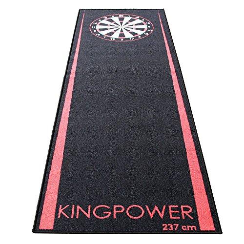 Kingpower Dart Matte Dartteppich Turnier Matte Dartmatte Dartteppiche Darts 237 x 80 cm