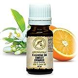 Orangenöl Süß, 100 % reines ätherisches Orangen öl 20 ml - Brasilien -für guten Schlaf - Beauty - Baden - Körperpflege - Wellness - Schönheit - Kosmetik - Aromatherapie - Entspannung - Massage - SPA - Aroma diffuser - Duftlampe -Raumduft, Glasflasche, von AROMATIKA
