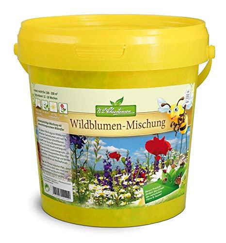 Wildblumen-Mischung für 100-200qm bienenfreundliche Mischung Bienenweide