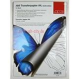 NEU AMI Transferpapier, bedruckbar, A4, 10 Blatt