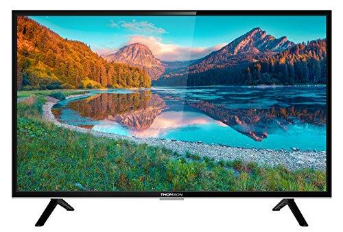 Thomson Fernseher (40FD5426) 101,6 cm (40 Zoll) Smart TV (Full HD, Triple Tuner, HDMI, WLAN) Schwarz