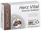 HERZ VITAL - Schwarzer Knoblauch - Das wirksamste Knoblauch der Welt - Der ultimative natürliche Schutz für Ihr Herz! - 60 Kapseln (reicht bis zu 30 Tage)