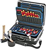 Knipex Montagekoffer Elektro-Installation, 24 Stück, 002105HLS