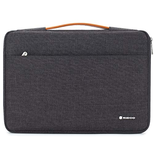 NIDOO 11' Aktentasche Laptop Handtasche Notebook Tasche Hülle Sleeve für 12.9' iPad Pro 2018/13' MacBook Air / 13' MacBook Pro / 12.3' Surface Pro 6/12' Samsung Galaxy Book2, Dunkelgrau