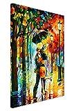 New Dance unter der von Leonid Afremov auf Leinwand abstrakt Bild Wand Drucke Modern Art Poster Größe: A2–61x 40,6cm (60cm x 40cm)