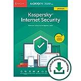 Kaspersky Internet Security 2019 Upgrade | 5 Geräte | 1 Jahr | Windows/Mac/Android | Download | Upgrade  |  5 Geräte  |  1 Jahr  |  PC/Mac  | Online Code