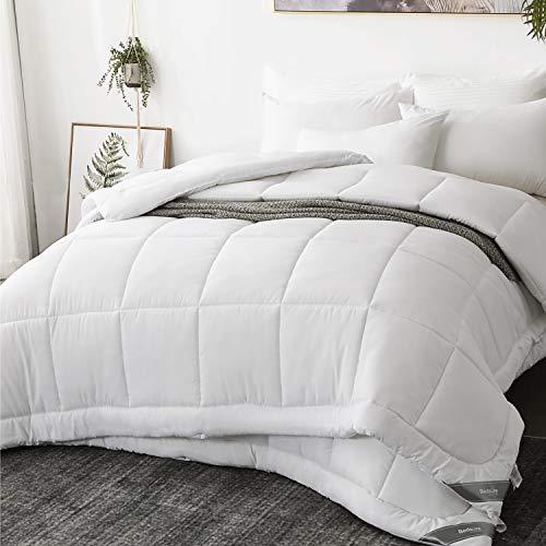 Bedsure 4 Jahreszeiten Bettdecke 135x200cm, Oeko-Test Zertifiziert für Allergiker geeignet, Super Weiche Kuschelige Steppdecke Schlafdecke