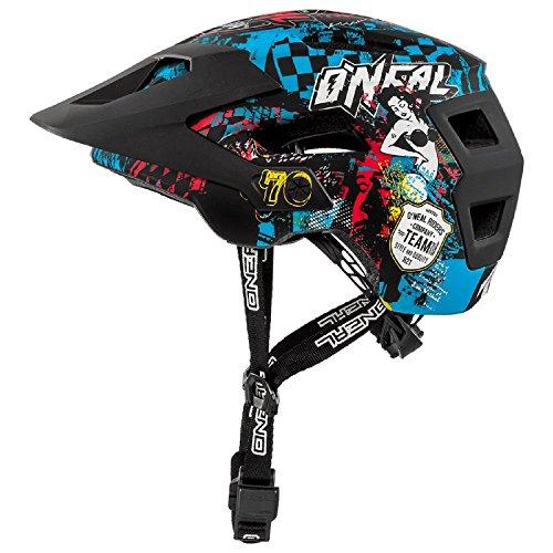 O'Neal Defender 2.0 Wild Fahrrad Helm All Mountain Bike Enduro MTB Magnet Verschluss, 0502-88, Größe S/M