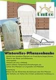 Pflanzen-Schutzsack, Wintervlies, Pflanzenvlies, ca. 1,20x1,80 Winterschutz für Pflanzen