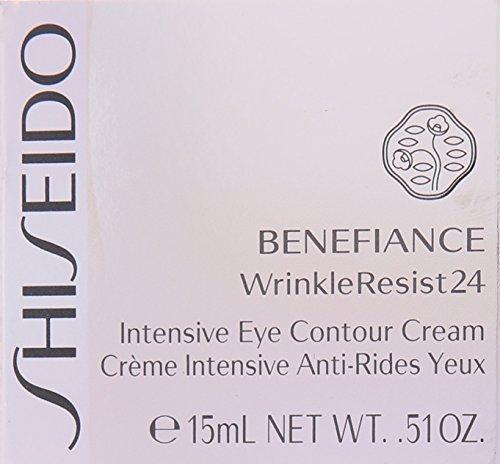 Shiseido Benefiance Wrinkle Resist 24 - Intensive Eye Contour Cream, feme/woman, 1er Pack (1 x 15 ml)