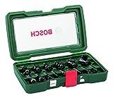 Bosch Fräser-Set 15tlg. (Holz, für Oberfräsen mit 8 mm Schaft)