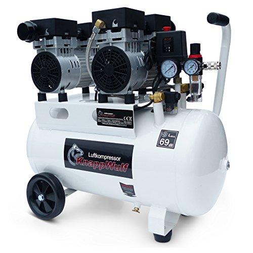 KnappWulf Kompressor 'mucksmäuschenstill' Modell KW2050 8bar Druckluftkompressor 69dB
