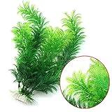 Vollter Ornament Dekoration Künstliche grüne Unterwasserpflanze Aquarium Aquarium Decor
