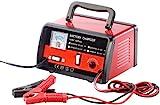 Lescars Kfz Batterie Ladegeräte: Automatisches Profi-Batterieladegerät für 6 V/12 V, max. 6 A (Ladegerät Auto)