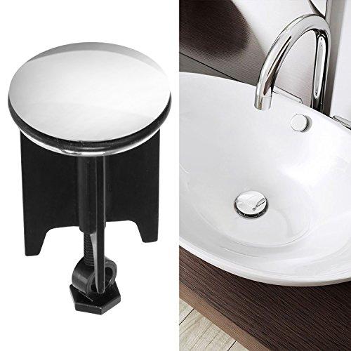 Waschbeckenstöpsel,innislink Abflussstopfen Abfluss Stöpsel für alle handelsüblichen Waschbecken Hochwertige Qualität Waschbeckenstopfen - 40mm