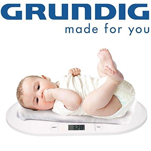 DIGITAL GRUNDIG BABYWAAGE STILLWAAGE KINDERWAAGE DIGITALWAAGE TIERWAAGE mit TARA-FUNKTION