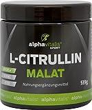 L-Citrullin Malat hochdosiert + Magnesium-Citrat - 539g - vegan - glutenfrei - laktosefrei - PRE WORKOUT BOOSTER