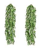 Künstlicher Bambushänger Kunstpflanze ca,80cm (2PCS)