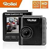 Rollei Dashcam 402 mit GPS und G-Sensor   Rechtskonforme Autokamera vorne   1080p Full-HD   Auto-Kamera zur Überwachung und Parküberwachung   Dash Cam Video-Registrator mit Loop Funktion