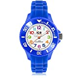 Ice-Watch - ICE mini Blue - Blaue Jungenuhr mit Silikonarmband - 000745 (Extra Small)