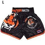 BeneU Herren Boxing Shorts Boxen Kurze Hose Sport Trainingshose Sporthose Shorts Sporthose für Muay Thai gemischte Kampfkünste Kickboxen Cage Kämpfen Freistil Training professionelles Kämpfen
