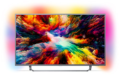 Philips 55PUS7303/12 139 cm (55 Zoll) LED (Ambilight, 4K Ultra HD, Triple Tuner, Smart Fernseher)